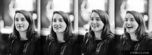 How to smile in 4 Steps ... Luge & Raclette Bénévoles Nouveau Monde, Winter 2015