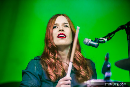 Anna Prior ... Metronomy (UK) @ Fri-Son, Fribourg, Switzerland, 06.03.2015