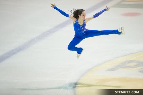 Cloé Jutzet ... Gala CPFR de patinage artistique @ BCF Arena, Fribourg, 22.03.2015