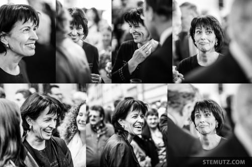 Bundesrätin / conseillère fédérale Doris Leuthard ... best expressions! :-)