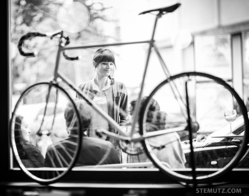 Sara ... 40 Years Party Sébastien Virdis @ Cyclo Café, Fribourg, 02.05.2015