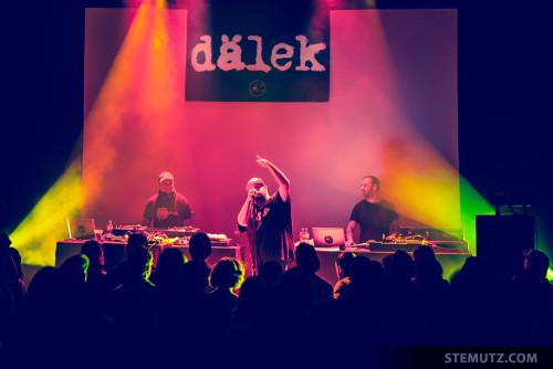 Moodie Black (US) / DÄLEK (US) @ Fri-Son, Fribourg, 22.04.2015