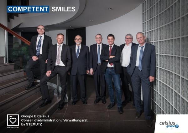 Competent Smiles! Groupe E Celsius - Conseil d'administration / Verwaltungsrat