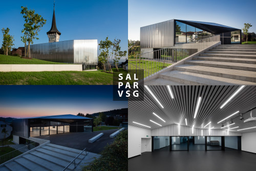 virdis architecture @ Salle paroissiale, Villars-sur-Glâne, Photos: STEMUTZ.COM