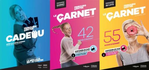 Fribourg Centre: Photos de campagnes publicitaires 2015-2017