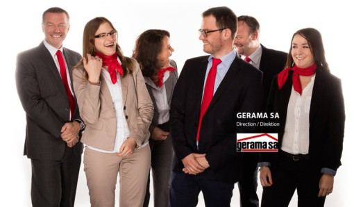 Gerama SA: Photo de groupe et portraits de la direction