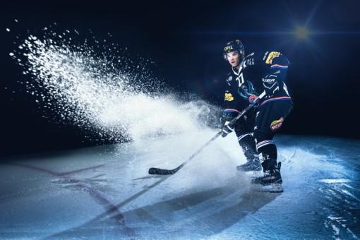 HC Fribourg-Gottéron: Photo d'action pour visuels et site web