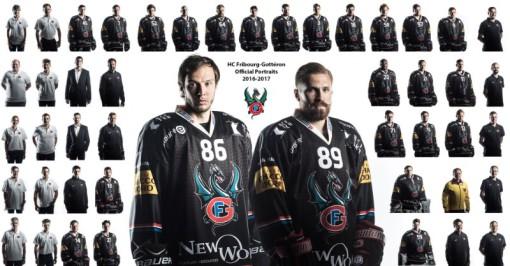 HC Fribourg-Gottéron: Photo officielles de l'équipe, des joueurs et du staff