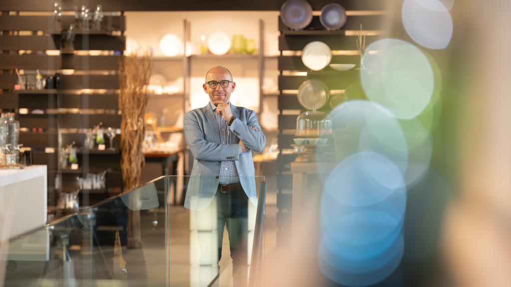 CEO Yvo Bielmann - Cash Hotel © Stéphane Schmutz /