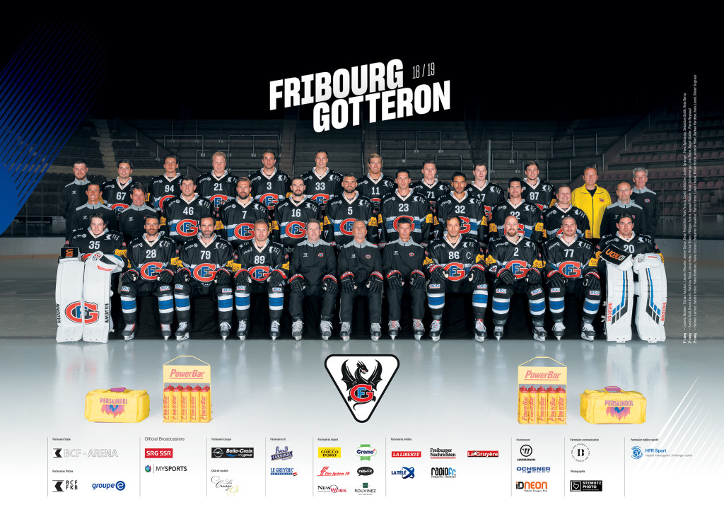 Photo Officielle HC Fribourg Gottéron par STEMUTZ PHOTO