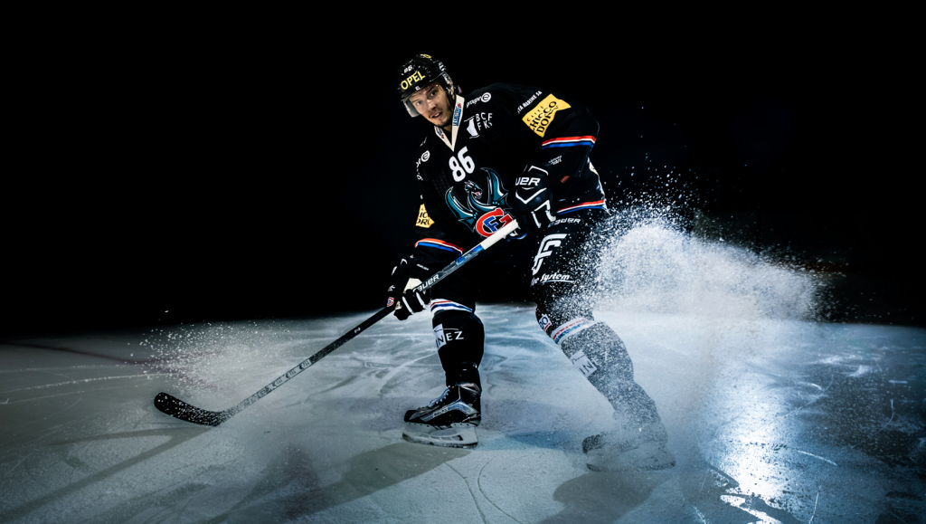Julien Sprunger Action Shot by STEMUTZ - HC Fribourg Gotteron