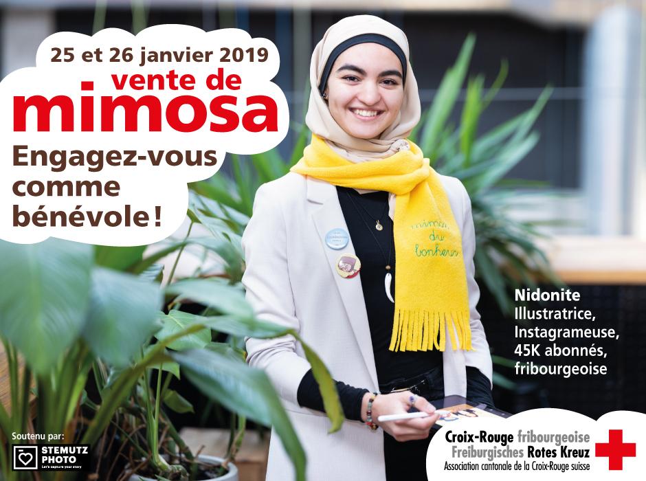 Portraits campagne MIMOSA 2019 par STEMUTZ : Nidonite, dessinatrice