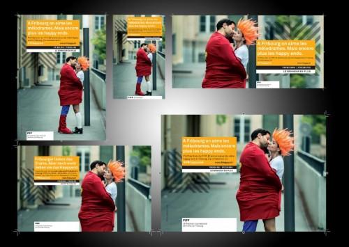 FIFF 2014: Photos pour Campagne publicitaire / Fotos für Werbekampagne