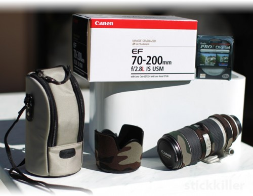 Canon EF 70 - 200 mm IS USM for sale