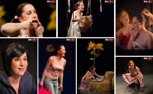 Aurelie Candaux plays 4 women .... @ Nouveau Monde, 24.02.2011, by stemutz