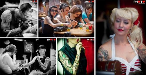 Tattoo art & Pin-up girls ... Alchemy Tattoo Convention @ Conthey, 21.05.2011