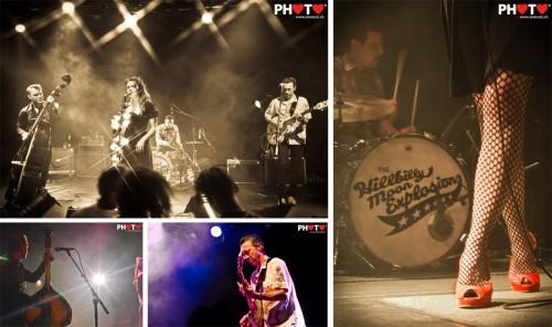 Best Swiss Rockabilly !! ... The Hillbilly Moon Explosion @ Nouveau Monde, Fribourg, 19.05.2011
