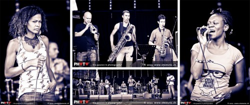 Professor Wouassa Soundcheck @ Jazz Parade 2011, Fribourg, Switzerland, 08.07.2011