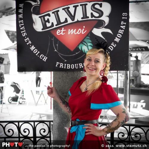 Valentine, Elvis et moi ... Jazz Parade 2011, Fribourg, Switzerland, 08.07.2011