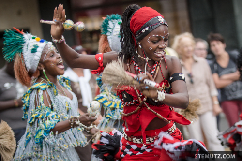 Gabon in Action ... RFI 2014 Opening Parade, Fribourg, 19.08.2014