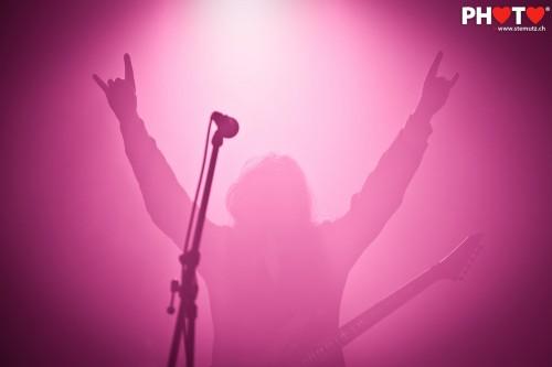 Devil wears pink ... Fleshgod Apocalypse (IT) @ Fri-Son, Switzerland, 16.12.2011