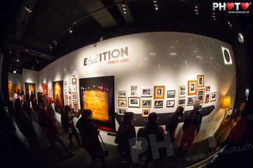 Vernissage de l'expo 20 ans d'Ebullition @ Musée Gruérien, Bulle, 08.02.2012