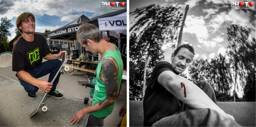 Hardcore Skaters: Broken Boards & Running Blood ... Volcom Sausage Day