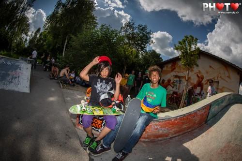 Free stuff makes happy Kids ... Volcom Sausage Day @ Skatepark Murten