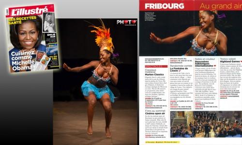 "Publication d'image ""Danseuse d'Antigua & Barbuda"", l'ILLUSTRÉ No. 24"