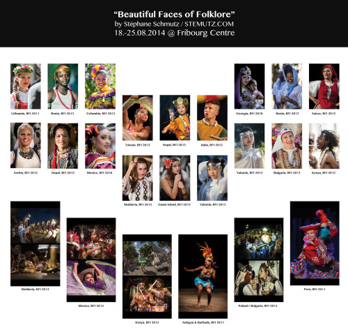 Expo Photo: Beautiful Faces of Folklore, 19.08. – 25.08.2014 @ Fribourg Centre