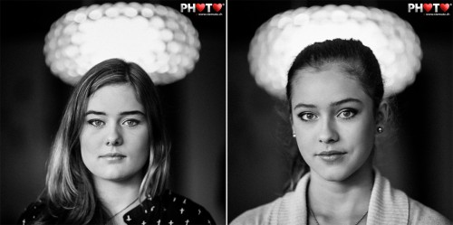Glamour Portraits Nadja & Aline @ Atelier Make-Up with Violaine & Mary
