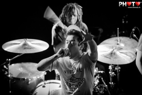 Grooves and Beats ... Itch (UK) @ Ebullition, Bulle, Switzerland, 08.02.2013