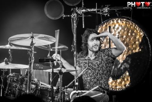 Drummer Matt Thomas ... The Joy Formidable (UK) @ Fri-Son, Fribourg
