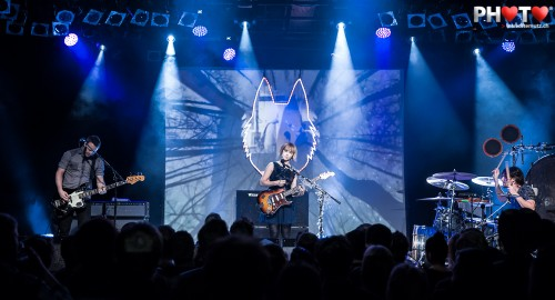 Nice Show ... The Joy Formidable (UK) @ Fri-Son, Fribourg, Switzerland, 05.02.2013
