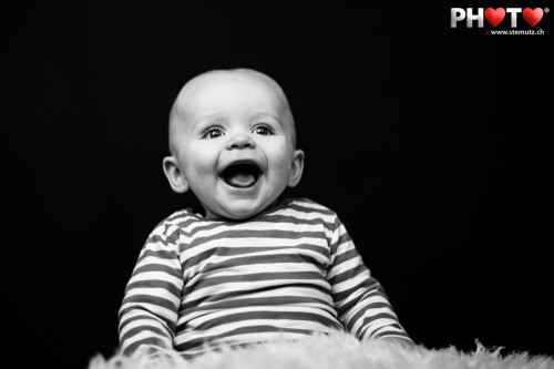 Black'n'White Baby Expression ... Noah @ Wednesday's Photo Sessions