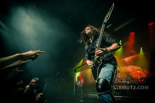Chris Broderick shredding ... Megadeth (US) @ Fri-Son, Fribourg, Switzerland