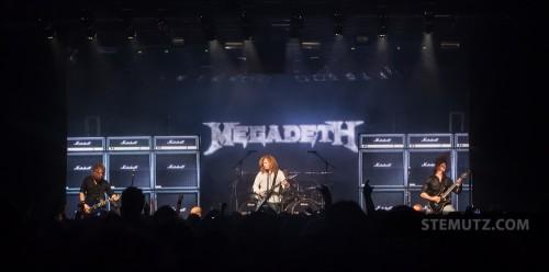 Approx. 1200 fans ... Megadeth (US) @ Fri-Son, Fribourg, Switzerland, 29.05.2013