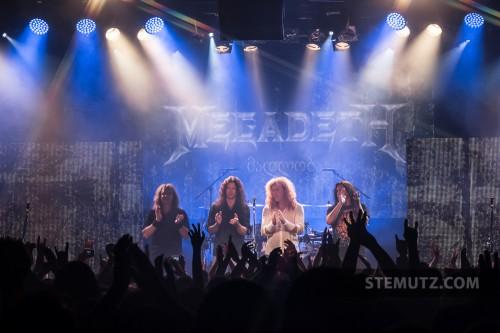 Au revoir / goodbye ... Megadeth (US) @ Fri-Son, Fribourg, Switzerland, 29.05.2013