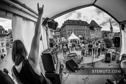 Buckin Good Fitch @ Fête de la musique, Toit des Arcades, Fribourg, 21.06.2013