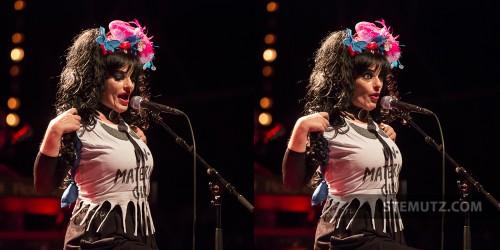 Unmaterial Boobs ... Nina Hagen (D) @ Jazz Parade, Fribourg, Suisse, 12.07.2013