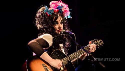 Traurig ... Nina Hagen (D) @ Jazz Parade, Fribourg, Suisse, 12.07.2013