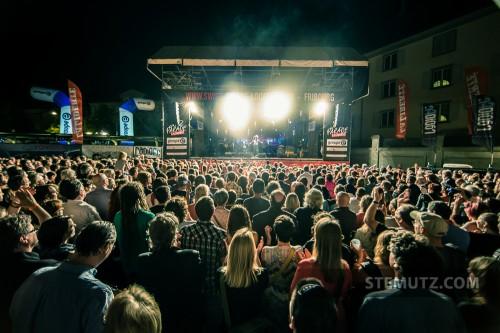 The Crowd ... Nina Hagen (D) @ Jazz Parade, Fribourg, Suisse, 12.07.2013