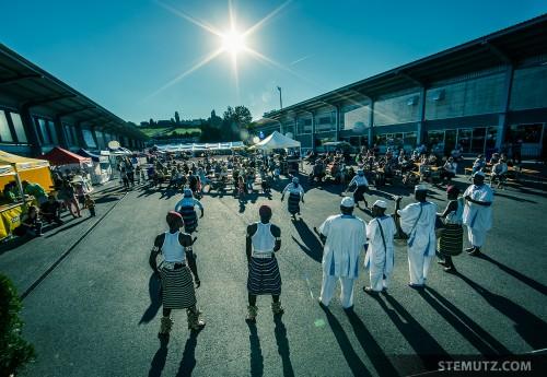 Bénin Sunshine ... RFI 2013: Village des Nations, St-Léonard, Fribourg, 15.08.2013
