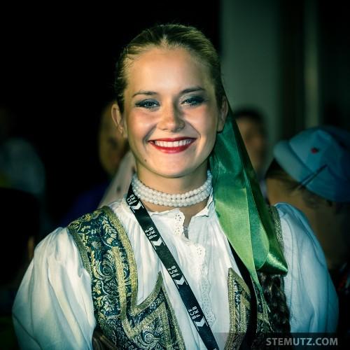 Magdalena, Poland ... RFI 2013: Village des Nations, St-Léonard, 17.08.2013