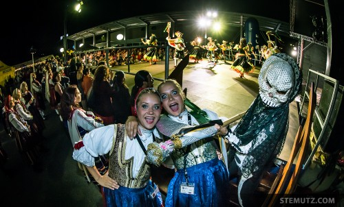 Two Polish Dancers killed by Colombian Death ... RFI 2013: Village des Nations