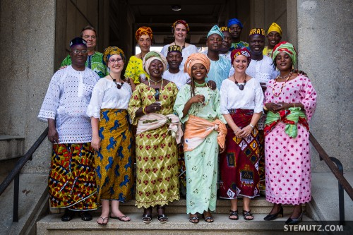 Dance Group TOWARA from Bénin with Guides ... RFI 2013: Family Day, 18.08.2013