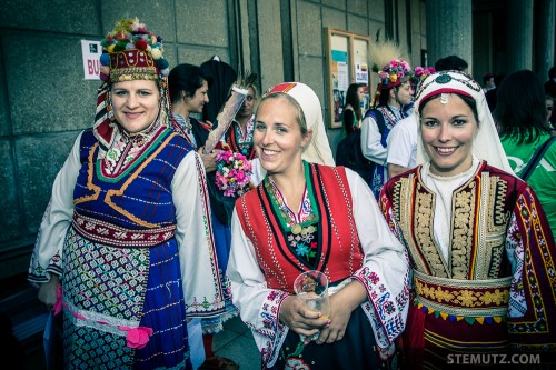 Swiss Guides in Bulgarian Dresses ... RFI 2013: Family Day, 18.08.2013