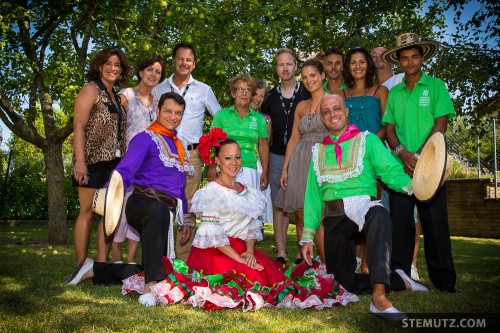 Nice People of the Colombian Group Farallones in Albert's Garden ... Paradise!