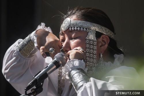 Veronika Beatbox ... Yakutia @ RFI 2013: Manoir, Givisiez, Switzerland, 17.08.2013