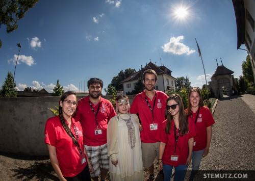 Angel with Helpers ... Yakutia @ RFI 2013: Manoir, Givisiez, Switzerland, 17.08.2013